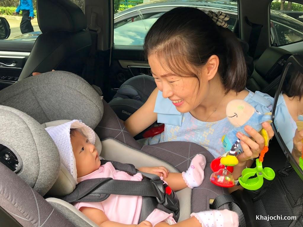 รีวิว Car Seat Daiichi รุ่น One Fix 360 หมุนได้รอบด้าน ใช้ยาวๆ แรกเกิดถึง 5 ขวบ